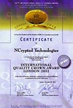 BID Certificate of NCrypted