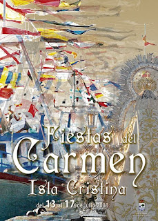 Isla Cristina - Cartel Virgen del Carmen 2011