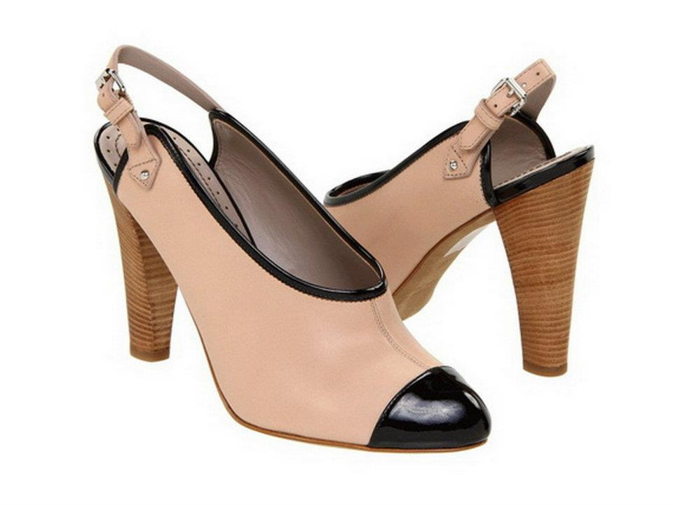 Women's Summer Sling Back Heels For 2012 | plumede