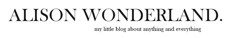 Alison Wonderland | Fashion, Beauty and Lifestyle Blog