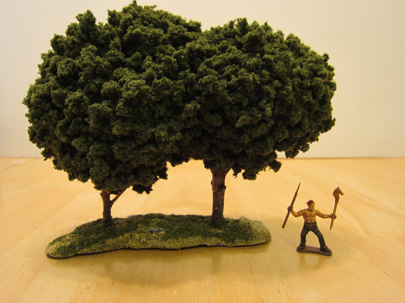 Как сделать мин. деревья