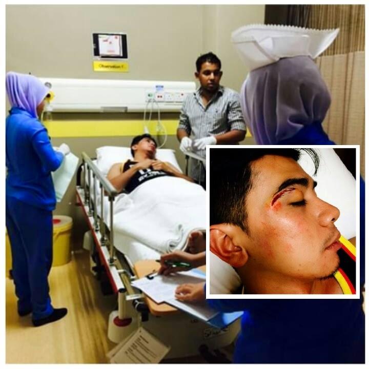 Amar Baharin Dikejarkan Ke Hospital Selepas Berlaku Pergaduhan Di Set Penggambaran