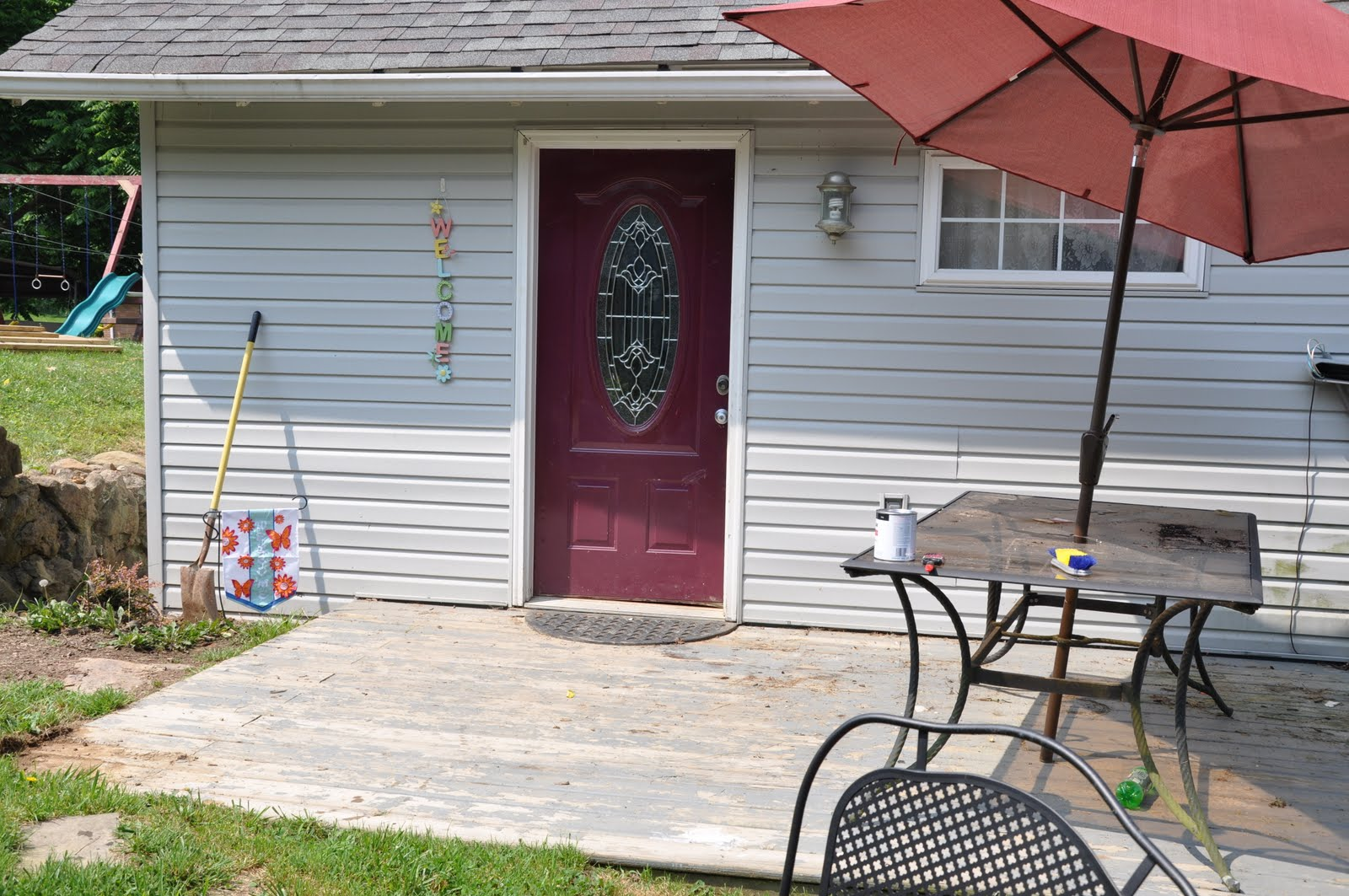 Wv Urban Hippies Back Porch Makeover