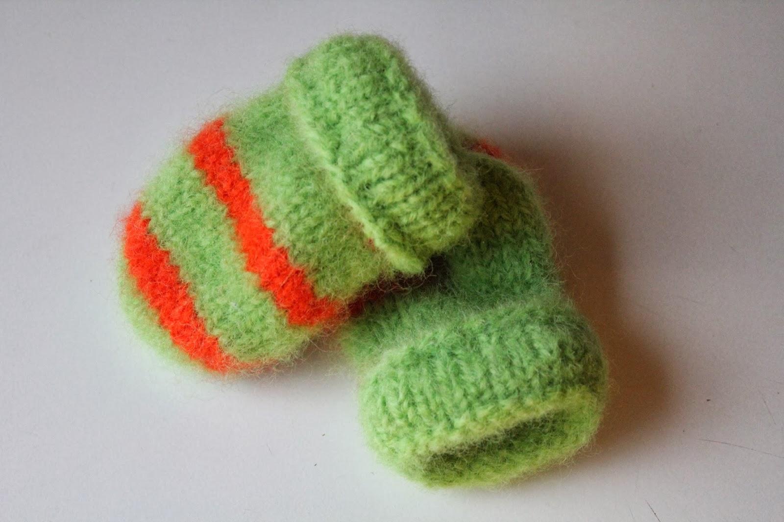 Tova barnevotter i knasje farger