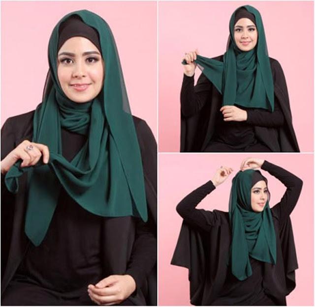Tampil Menawan Dengan Hijab Ala Artis Risty Tagor