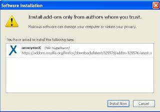instal anonymox