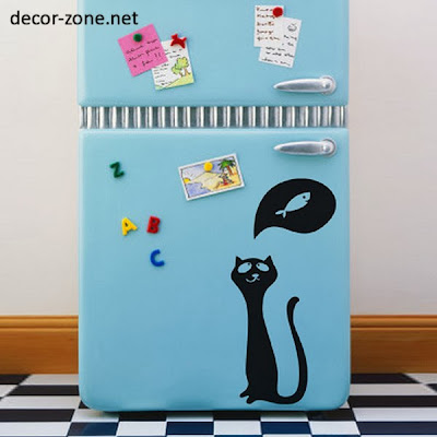vinyl wall stickers for refrigerator