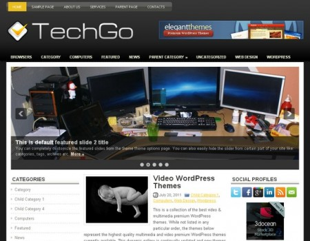Tech Wordpress Theme