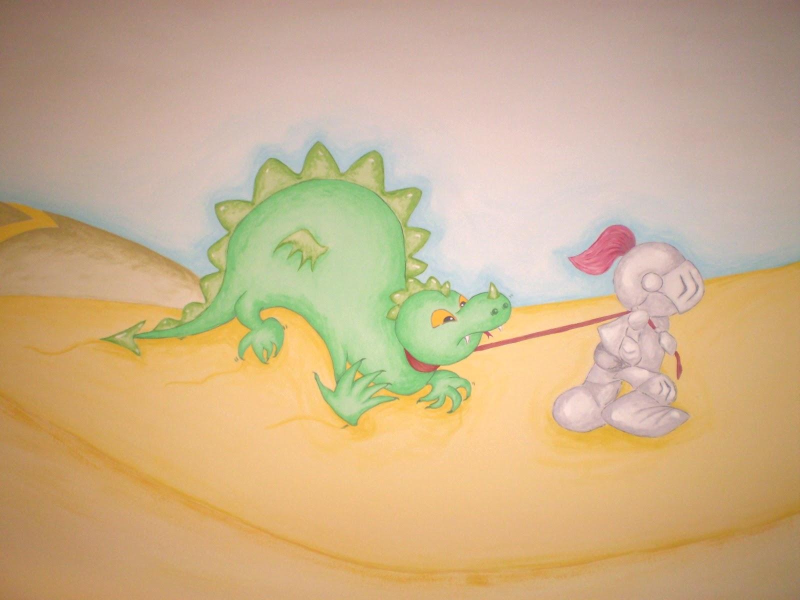 Murales infantiles pintados a mano 11 dormitorio de for Murales infantiles nina