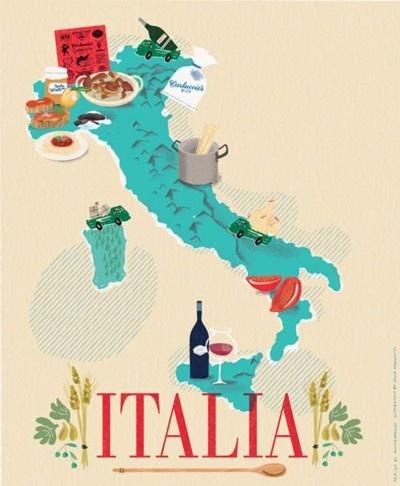 illustration,italie
