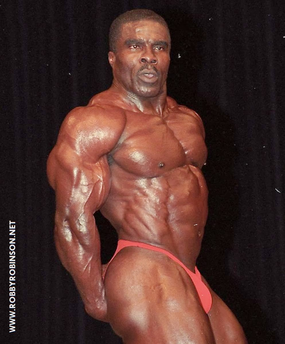 ROBBY ROBINSON - TRICEPS & LEGS - MR OLYMPIA 1997 ● www.robbyrobinson.net/motivation.php ●