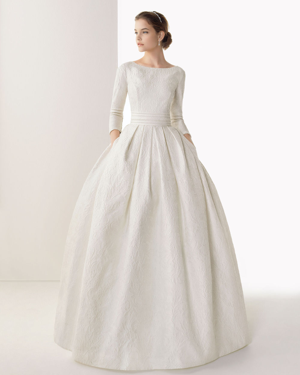 Wedding Dresses Cold Climates Wedding Dresses With Sleeves And Pockets