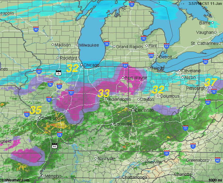 Mike Smith Enterprises Blog: 5PM AccuWeather Regional Radar