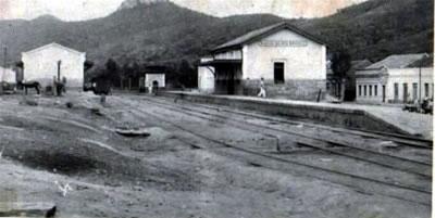 ESTAÇAO FERROVIARIA INAUGURADA EM 1912