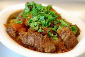 Stewed Beef with Curry - Bò Kho Cà Ri
