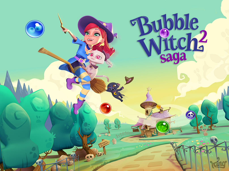 Bubble Witch Saga 2 Free App Game By King.com Limited