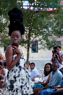 Imani+Harvin - My first fashion show photoshoot