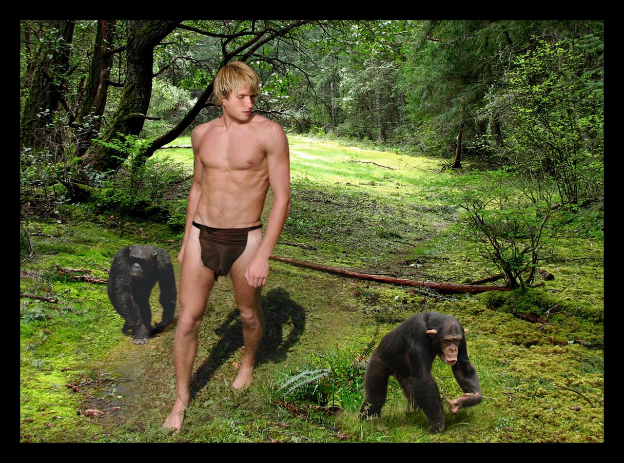 Секс в жунгле на тарзане 9 фотография