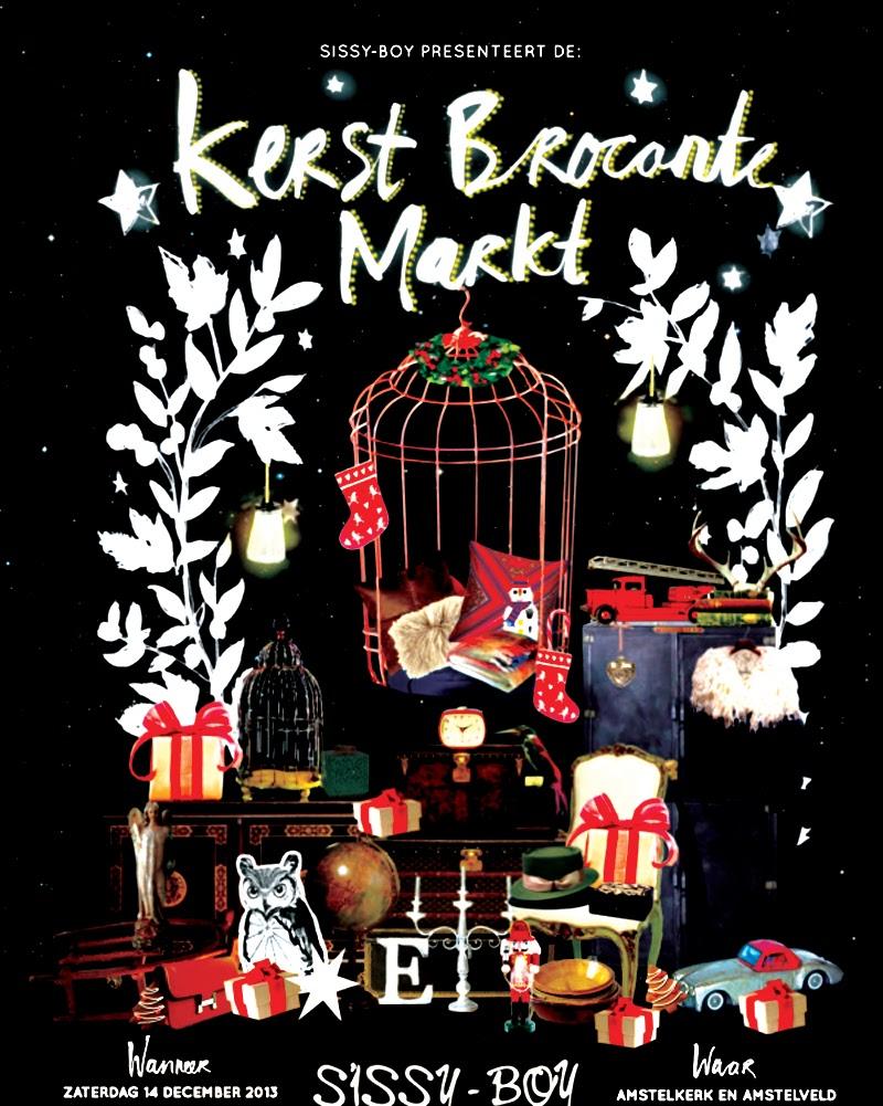 Weekend Tip | Brocante Christmas Fair Amsterdam, Sissy Boy, Pup Concepts, Hotspots, Lifestyle, Fashion, Brand, Must Visit, Amsterdam, Tip, Vintage, Antique, Food, Music, Fun, Kerstmarkt, Markt, Blog, LaVieFleurit, Blogger, Fleur Feijen