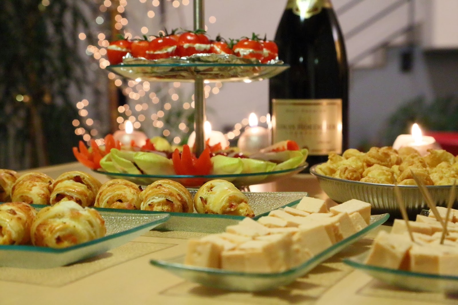 macarons et autres plaisirs nouvel an entre amis
