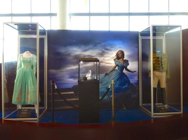 Disney Cinderella movie costume exhibit