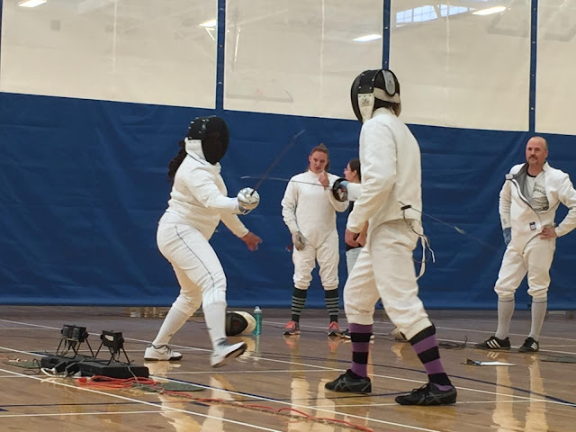Yes, That's Me Fencing!  --How Did I Get Here? My Amazing Genealogy Journey