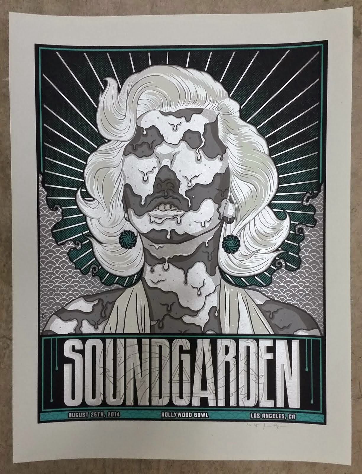 Jim Mazza Soundgarden Los Angeles Variant Free Friday Poster Giveaway