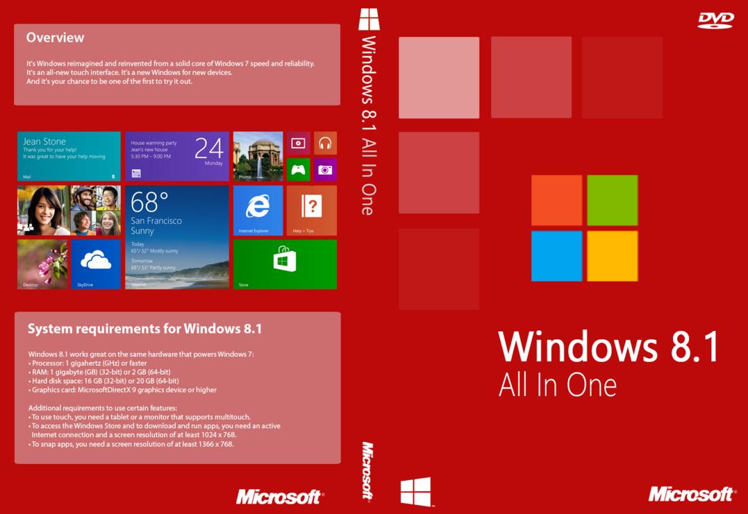 Master ISO Windows 8.1 Update 2015 (AIO)