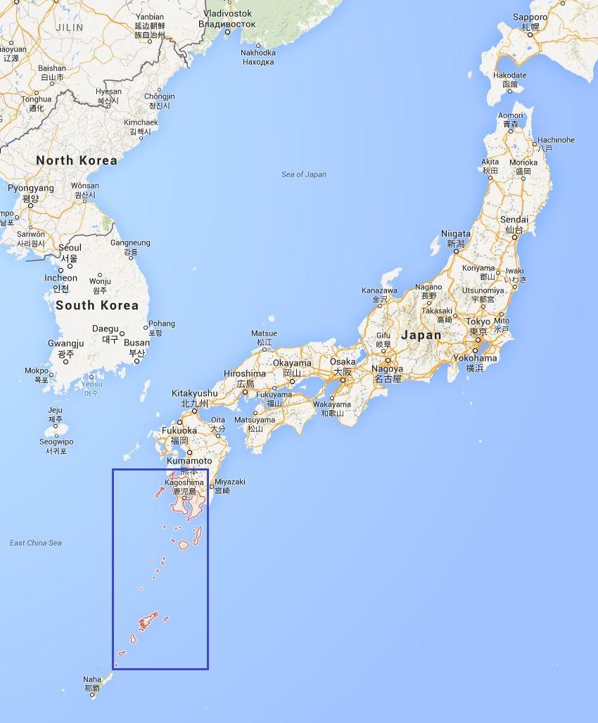 Journeys My Kagoshima Chunking The Map - Japan map kagoshima