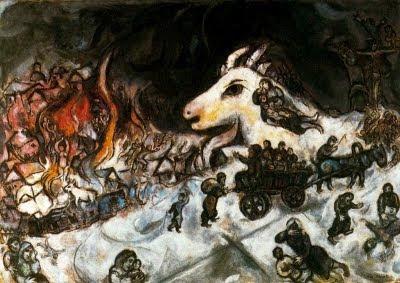 La guerra (Marc Chagall)