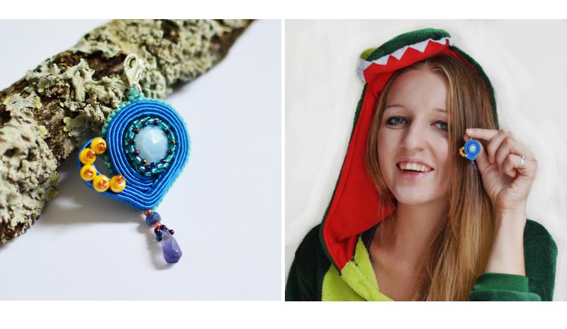 Biżuteryjki grają dla WOŚP: Niezapominajkowa bransoletka z charmsami