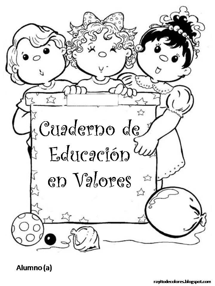APOYO ESCOLAR ING MASCHWITZ: Carátulas para cuadernos escolares
