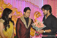 Celebraties at Actor Bharat n Jessy Wedding Reception Photos+%252894%2529 Actor Bharath n Jessy Wedding Photos