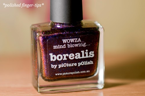 Borealis by Picture Polish - artificial light
