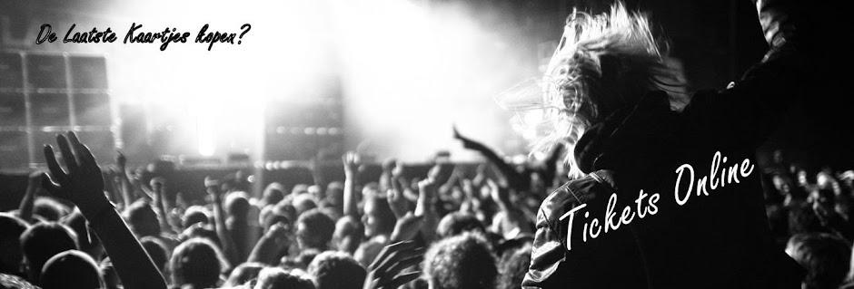 Tickets Online, Koop de laatste kaartjes voor concerten, evenementen