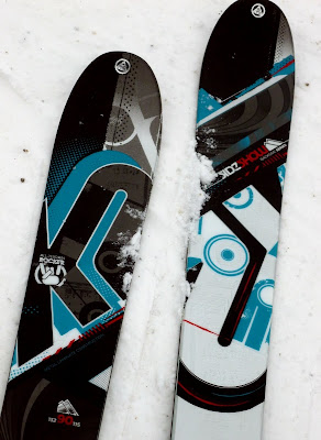 My new K2 Sideshow telemark skis.  The Saratoga Skier and Hiker, first-hand accounts of adventures in the Adirondacks and beyond, and Gore Mountain ski blog.