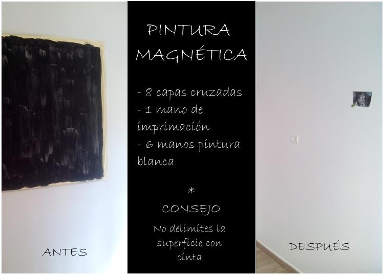 La gallina pintadita sorprendente una pared magn tica for Pintura magnetica leroy merlin