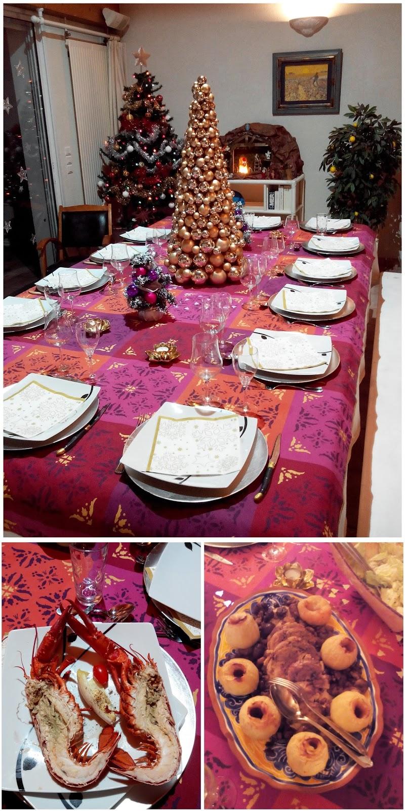 sapin, repas, fêtes, sapin, homard, bullelodie