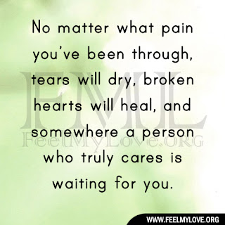 No matter what pain you've been through