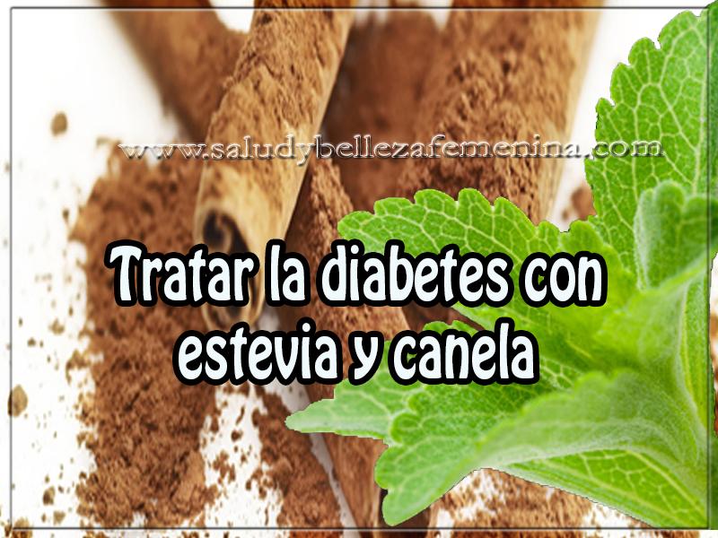 Salud y bienestar , tratar la diabetes con estevia y canela,  remedios naturales  con estevia y canela