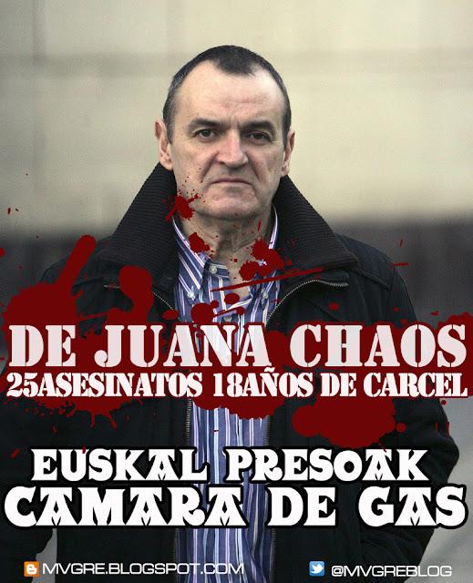 DE JUANA CHAOS - ETA