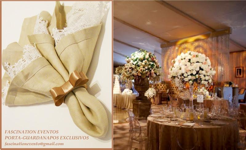 decoracao branca e dourada para casamento : decoracao branca e dourada para casamento:Guardanapos para Casamentos e Eventos em Geral: CASAMENTO FENDI E