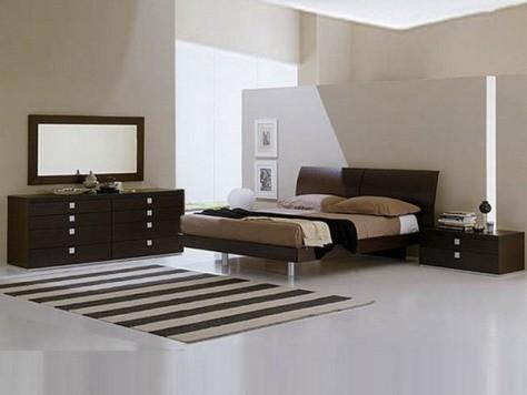 Dise o de muebles para un dormitorio moderno decorar tu habitaci n - Muebles modernos para habitaciones ...
