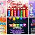 FELIZ CUMPLEAÑOS - HAPPY BIRTHDAY, Hermosas tarjetas y postales para felicitar