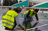 Solar Panels Workers