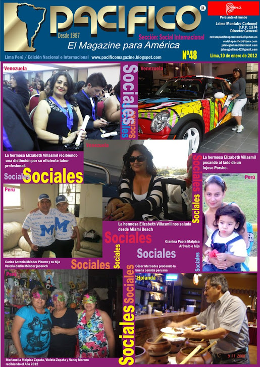 Revista Pacífico Nº 48 Internacional Social