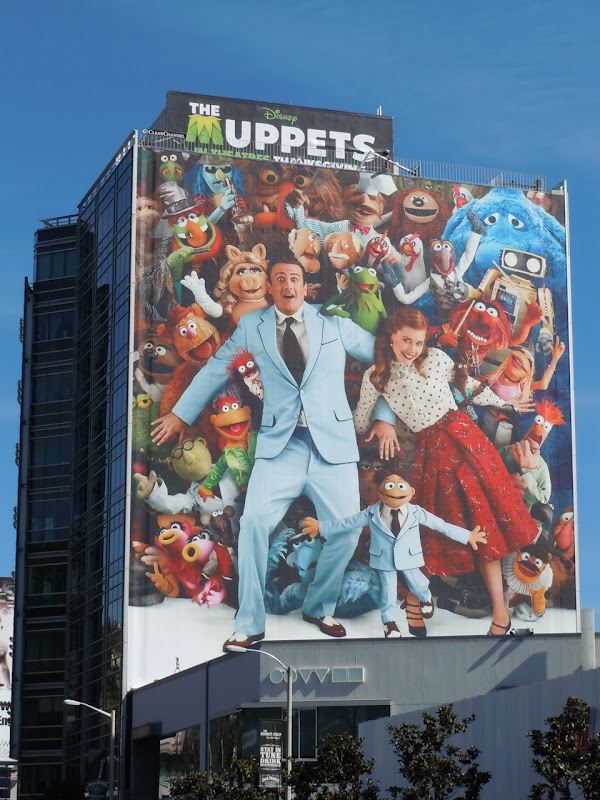 The Muppets giant billboard