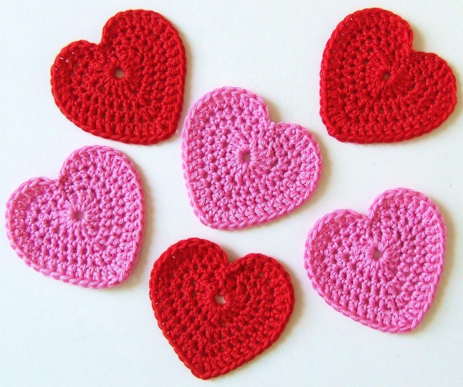 Crochet Heart Patterns For Beginners : Blij dat ik brei: Ik ook van jou...