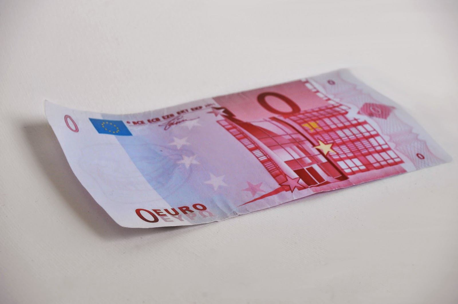 Salvatore Fiore zero Euro paper money 2014