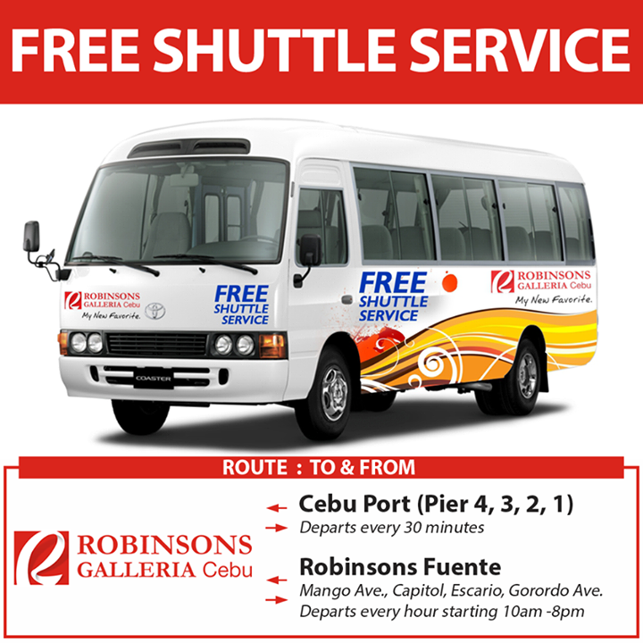 Robinson-Galleria-Cebu-Free-Ride